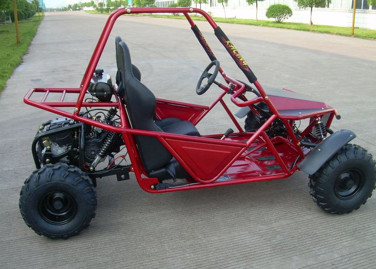This Go-kart Buggy is an award winning buggy that has been highly upgraded and now offered at an awesome low introductory price. Description from kartquest.com. I searched for this on bing.com/images