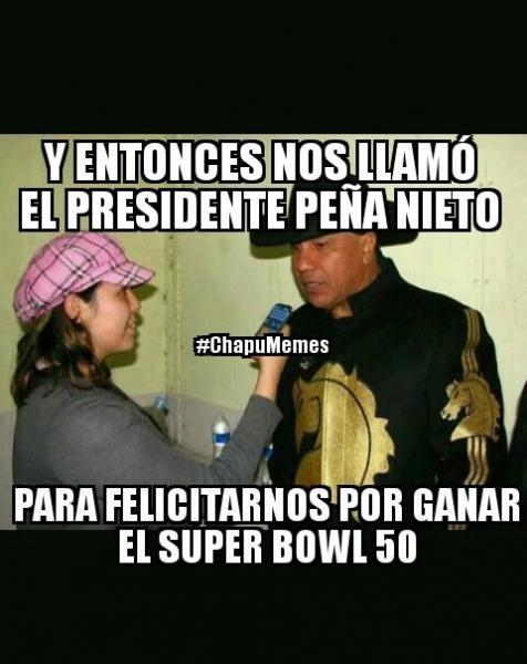 Los memes y epic fails del Super Bowl 50