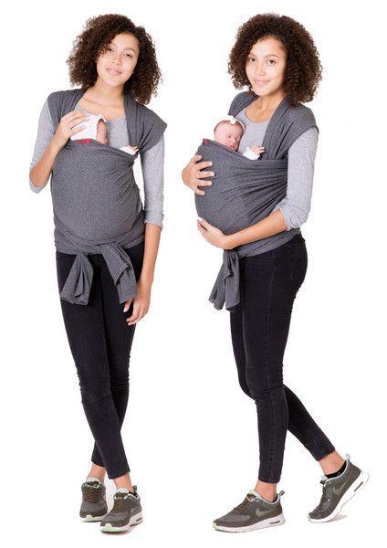 Oberteile & Kleider - Babytragetuch Tragetuch elastisch HERZSCHLAG - ein Designerstück von GoFuture bei DaWanda