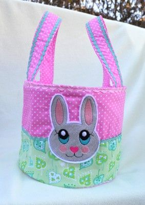 kostenlose Stickdatei Hase / free Bunny embroidery pattern - freebie