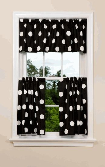 Find This Pin And More On Black And White Oxygen Kitchen Curtains