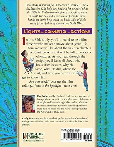 Jesus in the Spotlight: John, Chapters 1-10 (Discover 4 Yourself Inductive Bible Studies for Kids (P