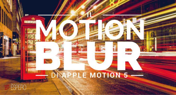 Giorgio Lovecchio ci spiega i segreti del motion blur di Apple Motion 5. Clicca qui per iscriverti subito al corso Apple Motion 5 da noi: http://www.espero.it/corsi-apple-pro/motion?utm_source=pinterest&utm_medium=pin&utm_campaign=VideoVanguards