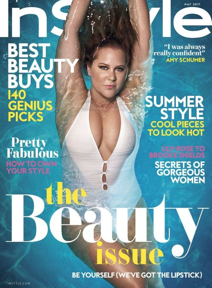 Swimwear Designer Who Criticized Amy Schumer Claims She Wasn't 'Fat-Shaming' the Comedian | Amy Schumer InStyle May 2017