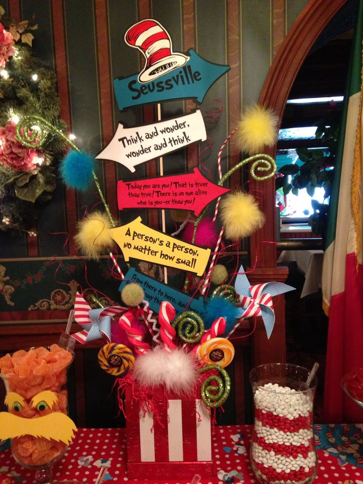 Dr Seuss Party theme