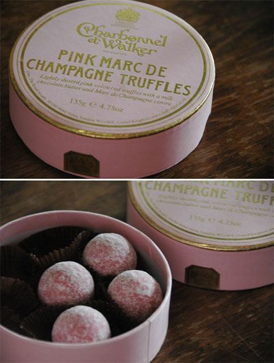 pink, champagne, truffles....cant think of anything else you might need