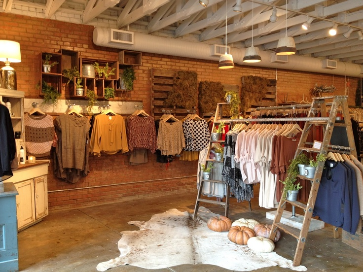 Milk & Honey Boutique on Henderson Ave. - So much cute stuff, and there's always something new!