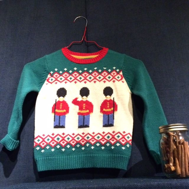 Classic Guards sweater always a Christmas  winner for kids at Cath Kidston Holiday 2015