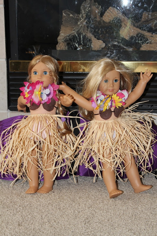 Hula Outfit for AG Dolls