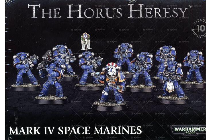 Warhammer 40k The Horus Heresy: Mark IV Space Marines