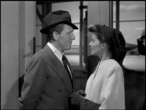 Woman of the Year (1942) - Spencer Tracy - Katharine Hepburn.  Love these two together.