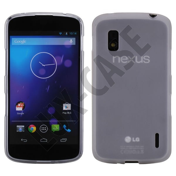 iMPACT Transparent (Hvid) Google Nexus 4 Cover