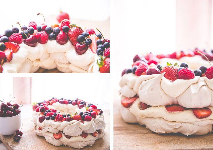 Sweet Magazine - Christmas Berry Pavlova Wreath