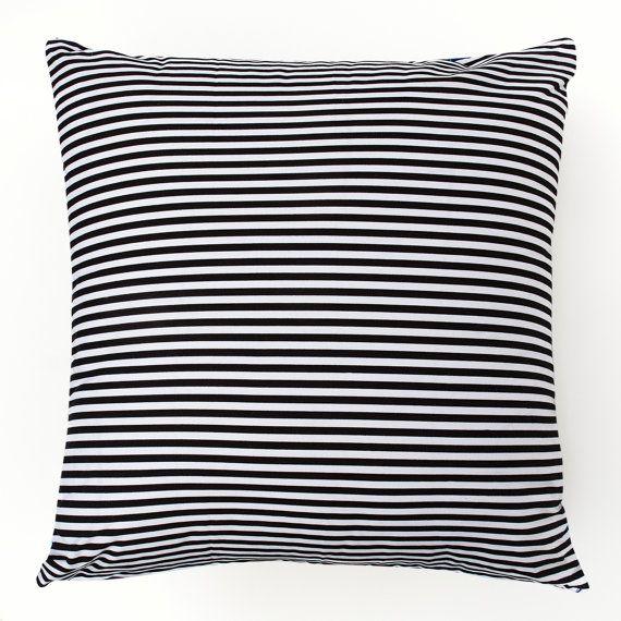 Blue Cushion with a Striped Bird on a Branch 45cm x by masouri