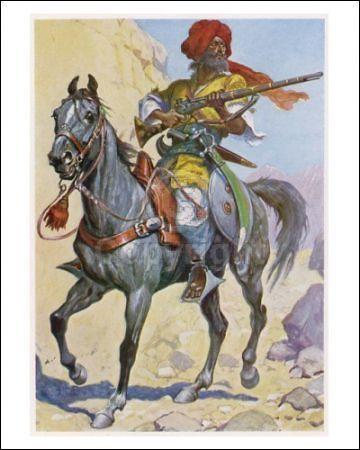 amazone dans les arts | Pashtun Warrior Khaibar Anti British Front Afghan Anglo War | Flickr ...