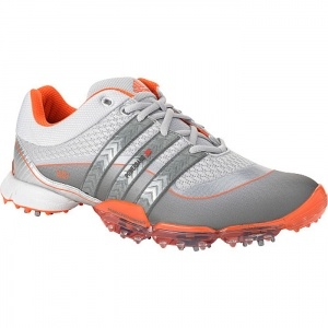 SALE - Mens adidas Powerband Golf Cleats White - BUY Now ONLY $110.00