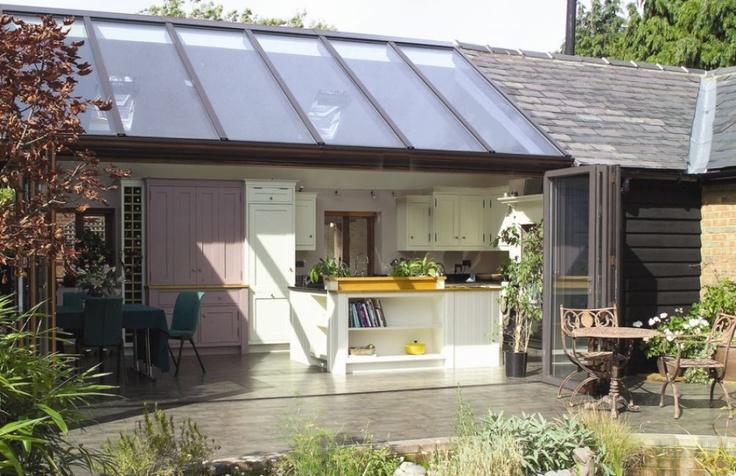 Kitchen Extension with sliding door