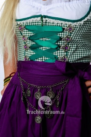 Krüger Dirndl Poetry, close up to make the laces