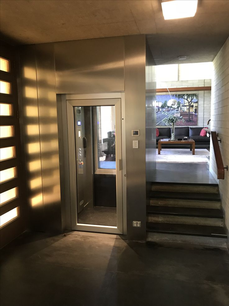 JPS Lifts - Genius 300 home lift / elevator with clear glass & aluminium doors #jpslifts