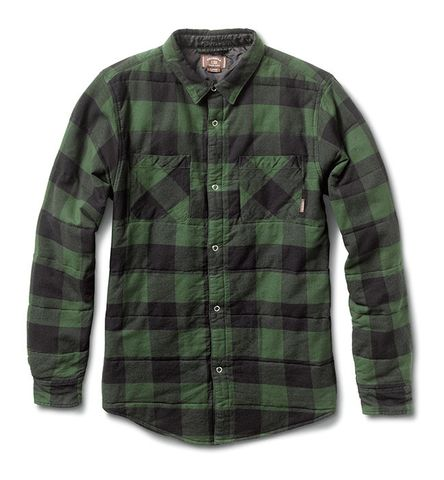 Fourstar Quilted Flannel Ishod Buffalo Rosin