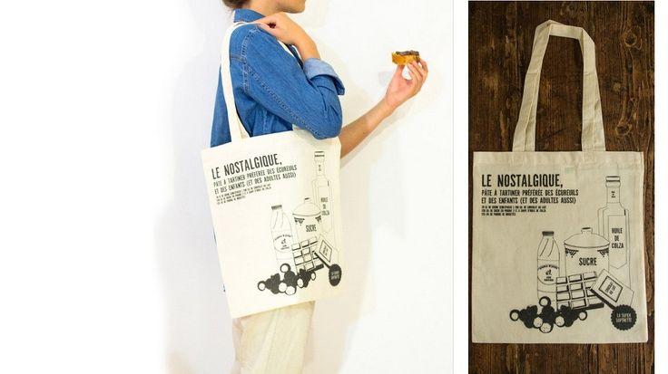 Sur la planète Food, le tote bag (sac en tissu à deux anses) sert de tee-shirt à message. Celui qui a remplacé avec bienveillance le (très méchant)...