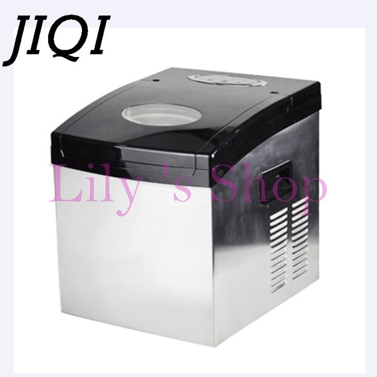 Portable Automatic electric ice Maker Household mini square shape ice making machine 20kg/24H home family small bar coffee shop