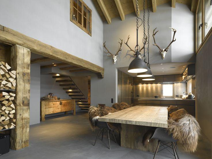 171 best Blockhaus \/ Log Cabin Ideas images on Pinterest Log - einrichtungsideen mobel chalet stil