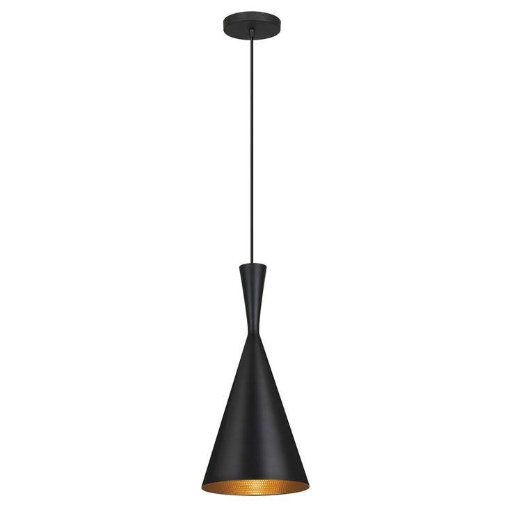 Bunnings Verve Design 19cm 60W Black Isa Pendant Lamp $70