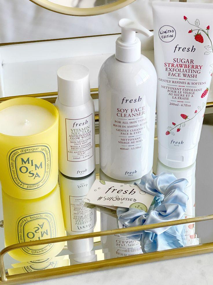 Fresh Skincare Favorites in 2020 Exfoliating face wash