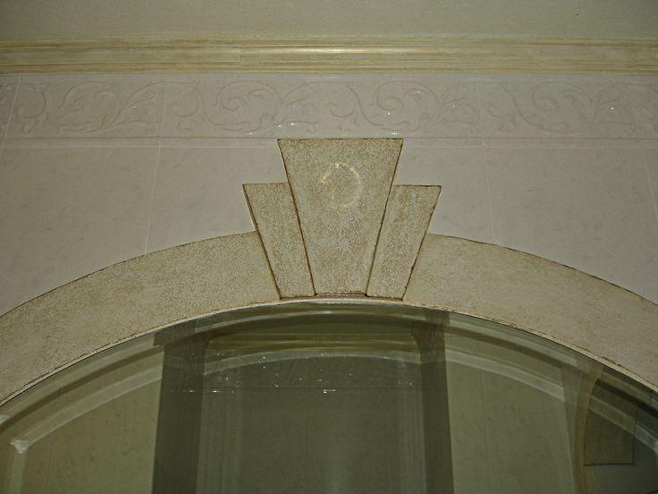 Bathroom wall finish detail. Pinheiros Altos 2006.