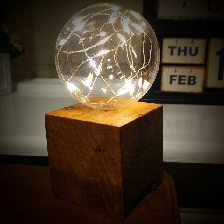 Een lampje gemaakt