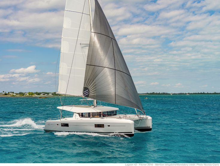 Lagoon 42, combining performance and comfort with outstanding looks!