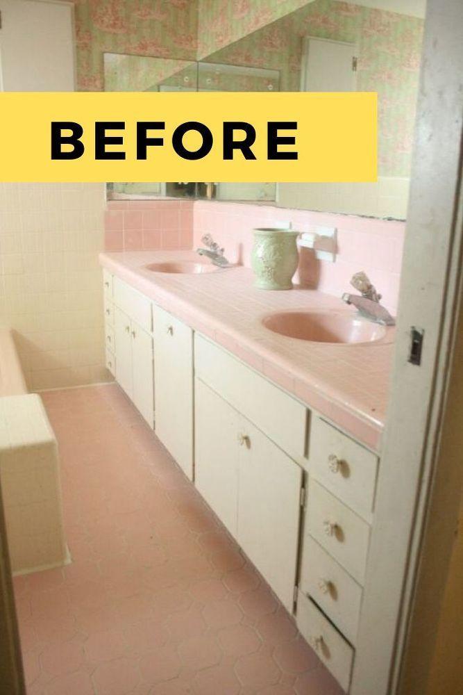 1960 S Bathroom Remodel Diy Idea In 2020 Diy Bathroom Remodel Cheap Bathroom Remodel Diy Remodel