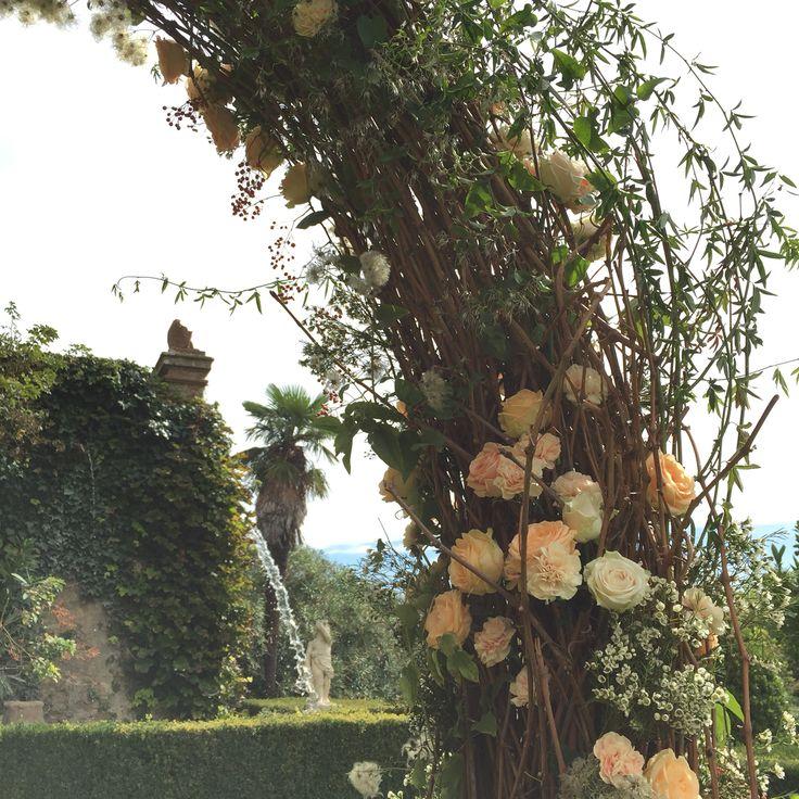 Backstage Iphonepic: Tommaso Torrini  Florals: La Rosa Canina