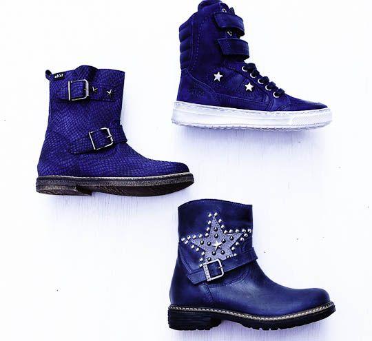 meidenschoenen winter 2013 blauwe schoenen meisjes