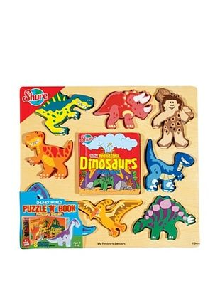 28% OFF T.S. Shure Dinosaurs Puzzy Book
