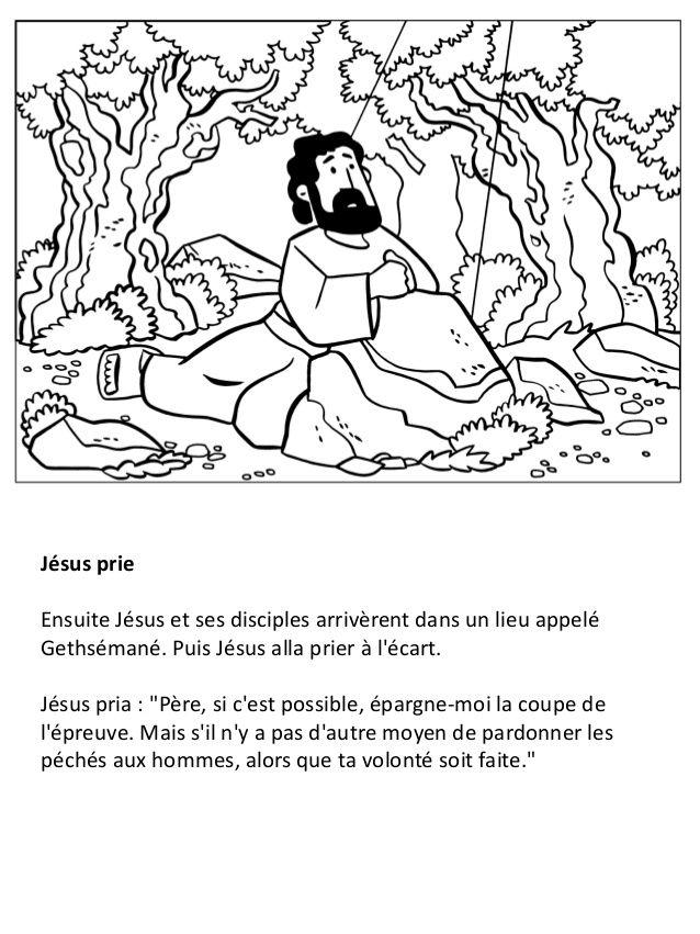Coloriage Jesus.La Vie De Jesus Pour Les Enfants Cahier De Coloriage Religion