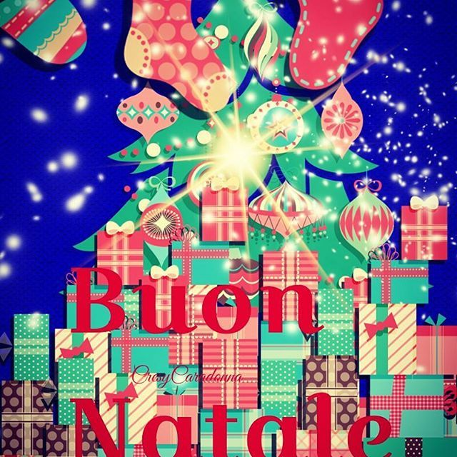 Una cartolina per Natale! 🎄🎄🎄🎄🎄🎄🎄🎄🎄 🎁Buon lunedì🎁 #Natale #cartolina