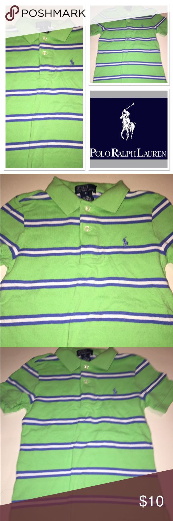 Ralph Lauren green Polo In excellent condition little boys size 5 Polo shirt Polo by Ralph Lauren Shirts & Tops Polos