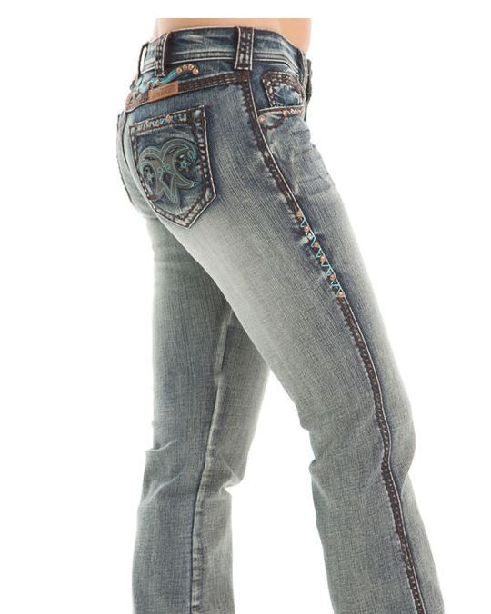 Cowgirl Tuff Rodeo Jeans