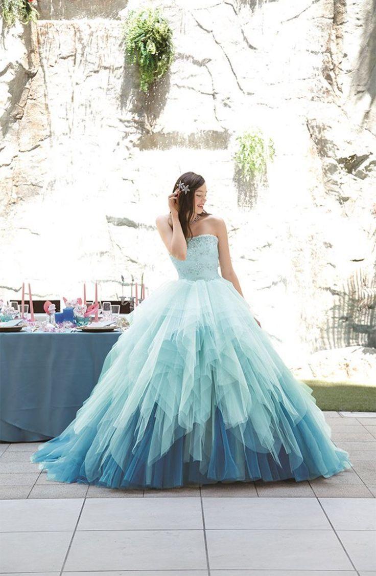 679 best Wedding images on Pinterest | Colorful wedding dresses ...