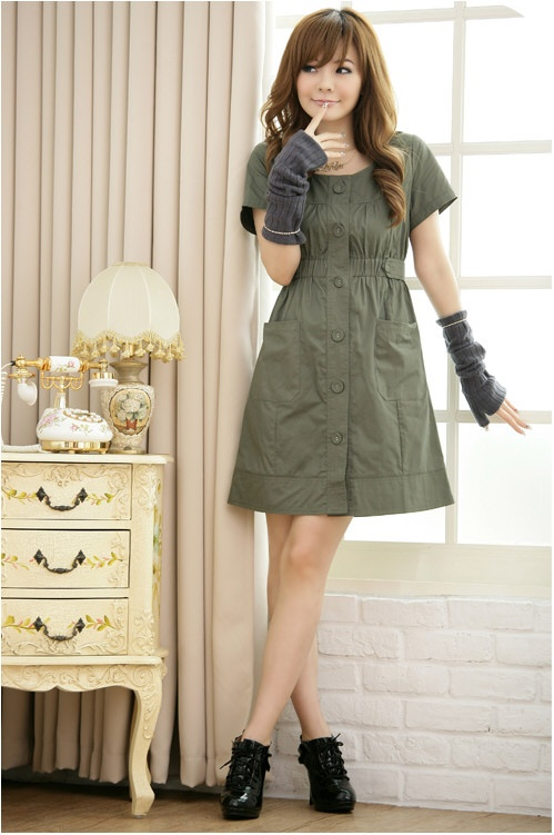 Korean Lady Fashion Cute Dress Cute Korean Dresses