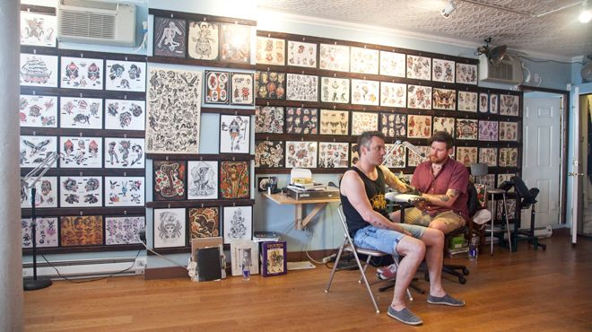 best tattoo shops in nyc (according to tony)