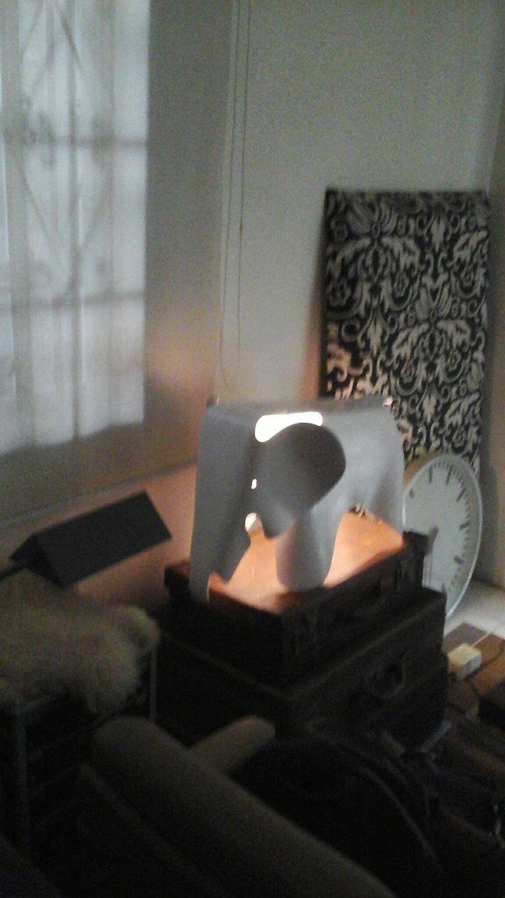 Elephant lamp,,,,