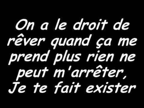Tal - Le Droit De Rêver [Paroles] [Version Acoustique].  Watch some verb conjugation!