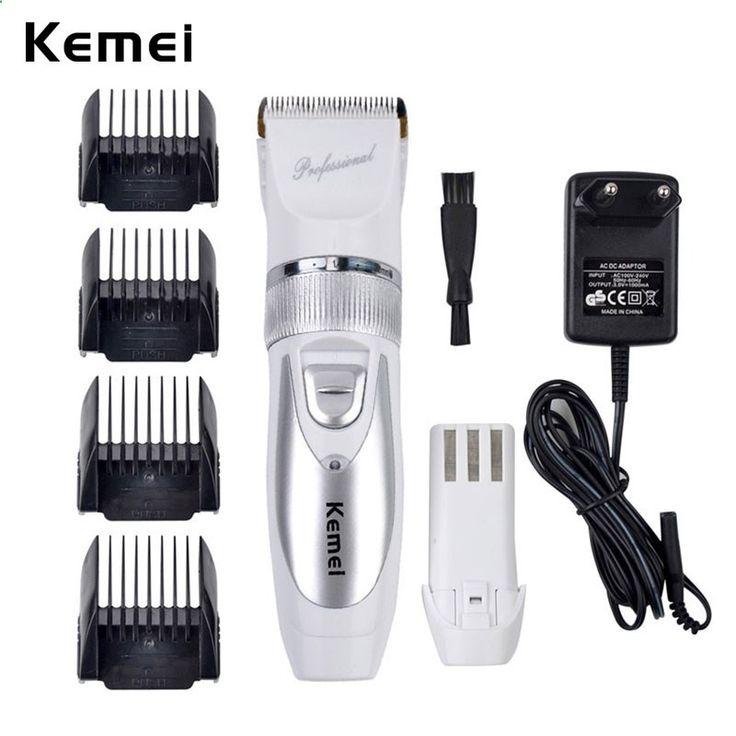 Hair Trimmer - Batterie supplémentaire Titanium Acier Lame Rasoir Électrique Rechargeable Tondeuse À Cheveux Tondeuse Professionnelle Cutter Hommes Cheveux Barbe Razor27