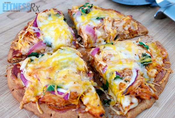 Heidi Powell - Barbecue Chicken Pita Pizza (for high carb days C2)