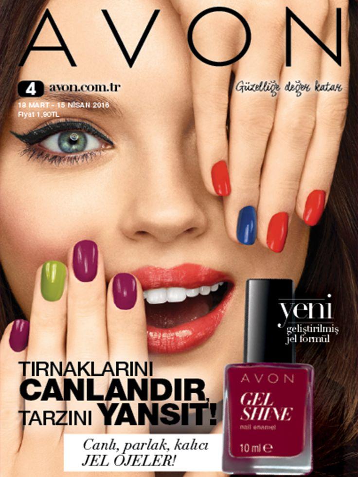 Yeni Kataloğumuz, Avon Gel Shine Ojeler kadar göz kamaştırıyor!