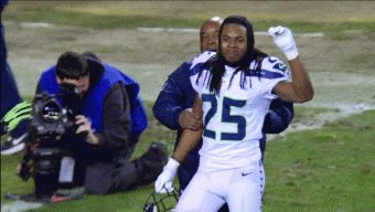 Richard Sherman's Interview with FOX Sports Deportes Much Better than Infamous Erin Andrews Interview | FatManWriting