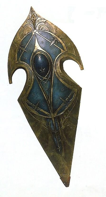 Gil-galad's Shield - this thing is beautiful, why does it not have more screen time?